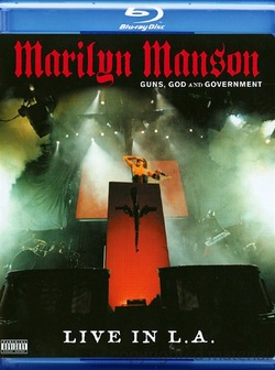 Marilyn Manson - Guns, God and Government: Live in L.A. (2002) Blu-ray