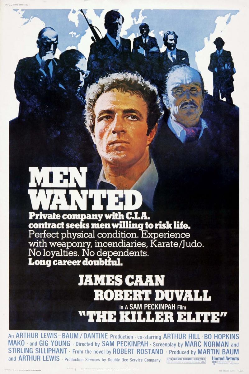 Элита убийц / The Killer Elite (1975) DVDRip