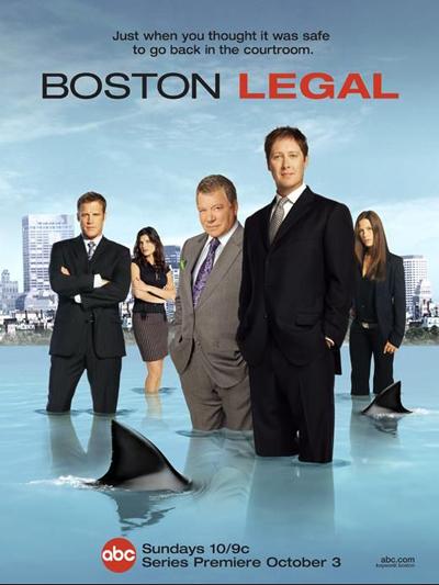 Юристы Бостона / Boston Legal: 5 сезонов (2004-2008) DVDRip