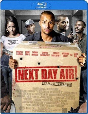 Доставка завтра авиапочтой / Next Day Air (2009) HDRip