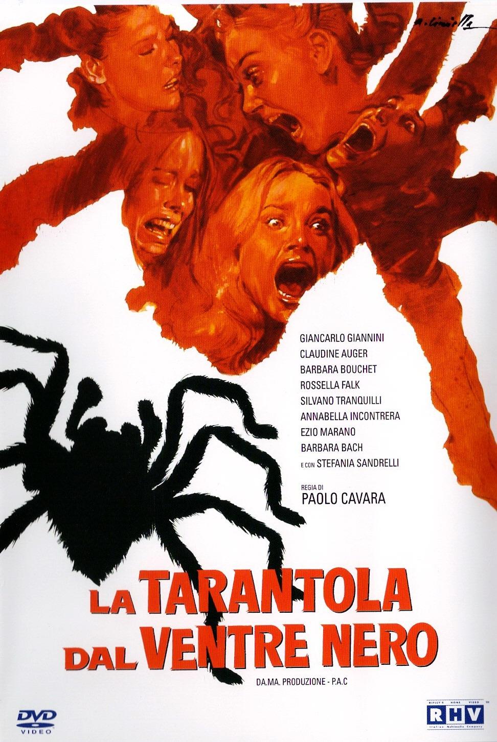 Черное брюхо тарантула / La tarantola dal ventre nero (1971) DVDRip