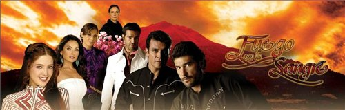 Огонь в крови / Fuego en la sangre (2008) DVD (esp.)