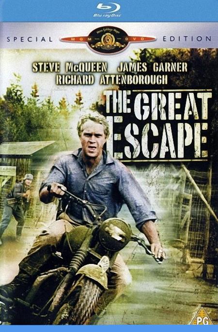 Великий побег / The Great Escape (1963) HDTVRip 720p