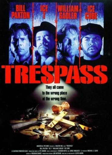 Чужая территория / Trespass (1992) DVDVRip