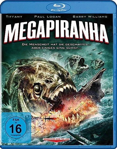 Мега пиранья / Mega Piranha (2010) BDRip 720p