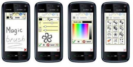 Magic Brush 1.02 - рисовалка на Symbian 9.4 / Symbian^3