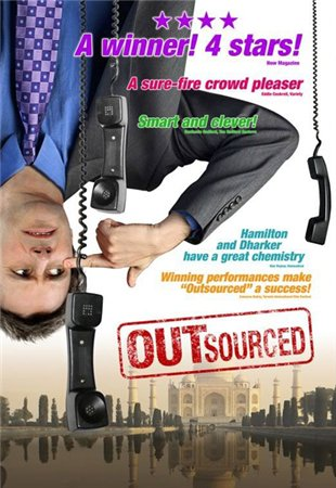 Сбежавшая работа / Outsourced (2006/DVDRip/ 1.37 GB)
