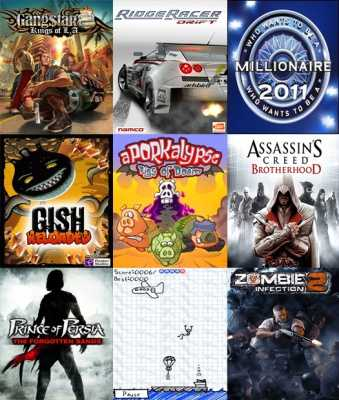 Сборник Java игр 2011
