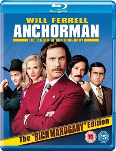 Телеведущий / Anchorman: The Legend of Ron Burgundy (2004) BDRip-AVC 720p