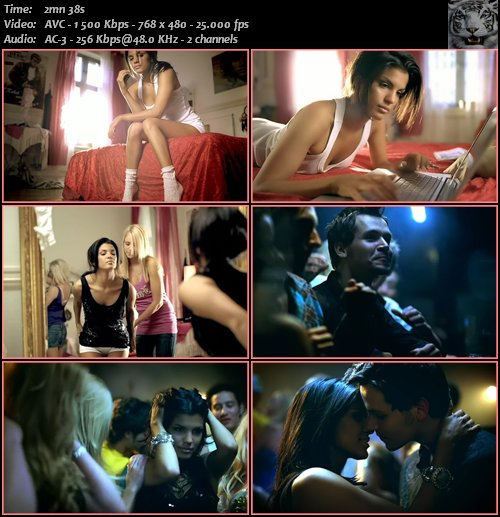Basshunter feat. DJ Mental - Now You're Gone (2008) DVDRip