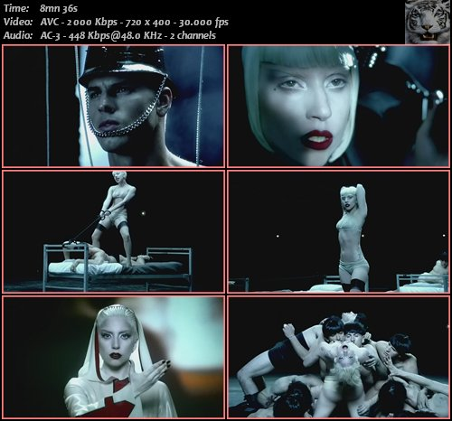 Lady Gaga - Alejandro (2010) DVDRip