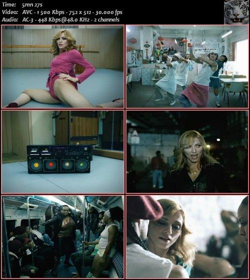 Madonna - Hung Up (2005) DVDRip