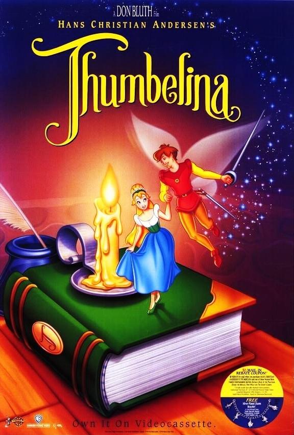 Дюймовочка / Thumbelina (1994) DVDRip