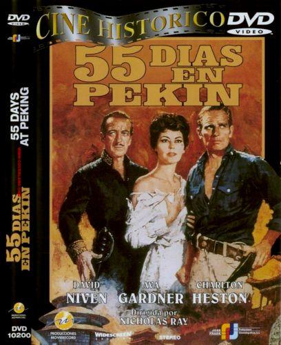 55 дней в Пекине / 55 Days at Peking (1963) DVD9 / DVDRip