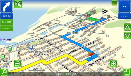 """Программа навигации """"Семь Дорог"""" (7Ways) 1.0 RC2 (2011)"""