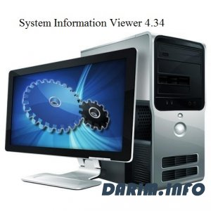 System Information Viewer 4.34 (2012)
