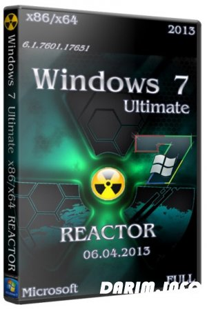 Windows 7 Ultimate x86/x64 REACTOR FULL (06.04.13/RUS)