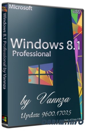 Windows 8.1 Pro Update 9600.17025 by Vannza (x86/2014/RUS)