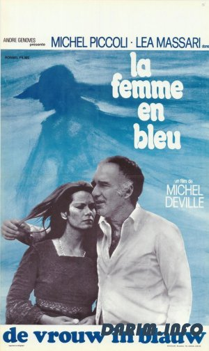 Женщина в голубом / La femme en bleu / The Woman in Blue (1973) DVDRip