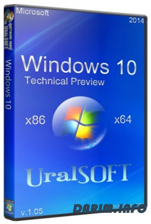 Windows 10 Technical Preview UralSOFT v.1.05 (2014/RUS/ENG)