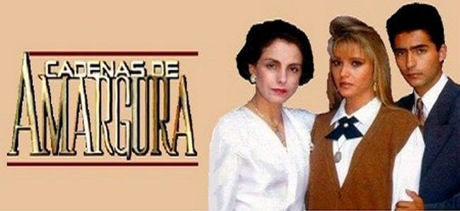 Цепи горечи / Cadenas de amargura / Серии: 1-46 (80) (Luis Vélez / Луис Велес) [1991, Мексика, теленовелла, мелодрама, TVRip]