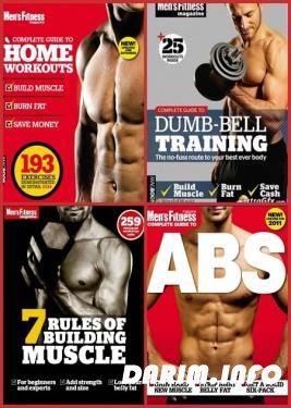 Jon Lipsey, Joe Warner - Men's Fitness Complete Guide + 7 Rules of Building Muscle (4 книги)