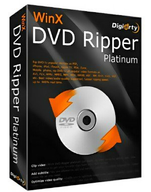 WinX DVD Ripper Platinum 7.5.19.153 Build 05.01.2017 + Rus