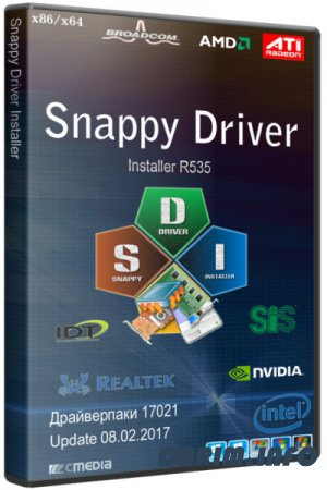 Snappy Driver Installer R1751 / Драйверпаки 17051 (2017/RUS/ENG/ML)