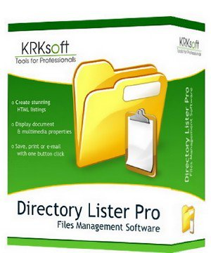 Directory Lister Pro 2.21.0.321 Enterprise Edition