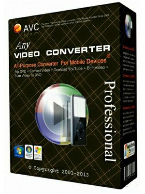 Any Video Converter Professional 6.2.2