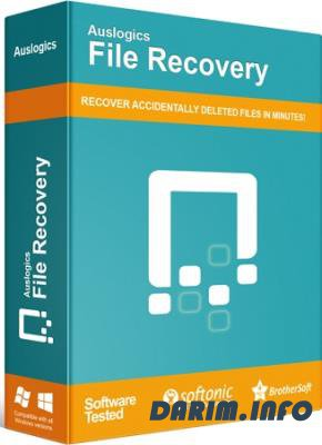Auslogics File Recovery 8.0.4.0 RePack by Diakov