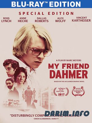 Мой друг Дамер / My Friend Dahmer (2017) HDRip