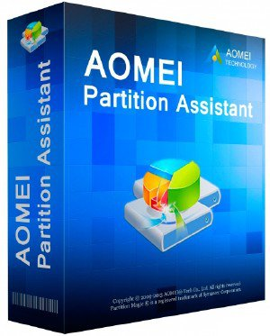 AOMEI Partition Assistant Professional / Technician / Server / Unlimited Edition 7.5.1