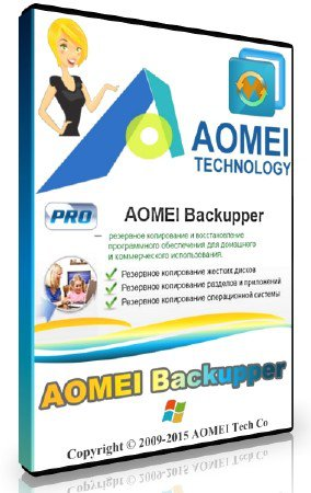 AOMEI Backupper 4.6.0 Professional / Technician / Technician Plus / Server + Rus