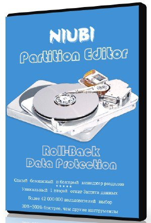 NIUBI Partition Editor Technician Edition 7.2.6 + Rus