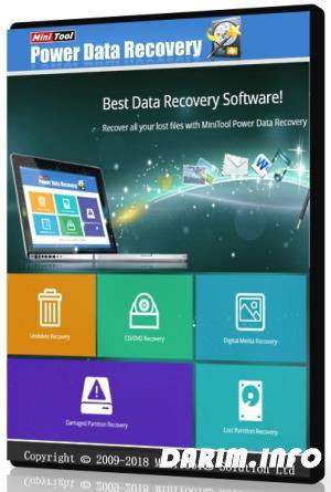 MiniTool Power Data Recovery Business Technician 8.5 WinPE ISO
