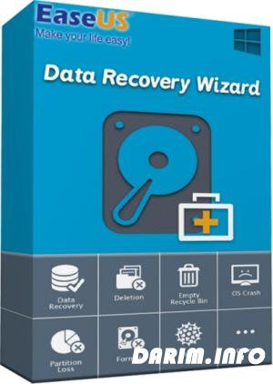 EaseUS Data Recovery Wizard 12.9.1 WinPE