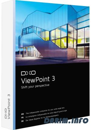 DxO ViewPoint 3.1.11 Build 277
