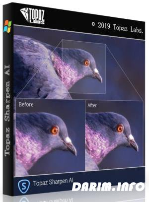 Topaz Sharpen AI 1.2.1 RePack & Portable by TryRooM