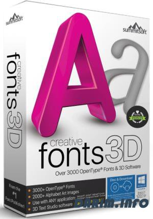 Summitsoft Creative Fonts 3D 10.5