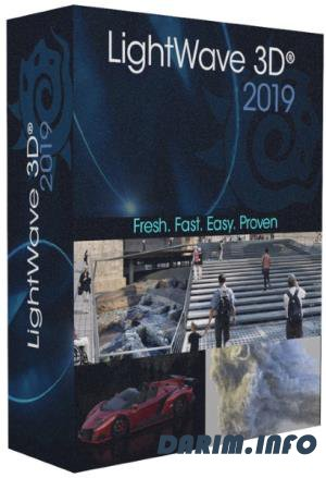 NewTek LightWave 3D 2019.1.3 Build 3132