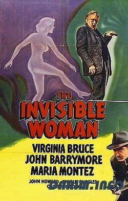 Женщина-невидимка / The Invisible Woman (1940) DVDRip