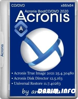 Acronis BootCD/DVD by andwarez 08.10.2020