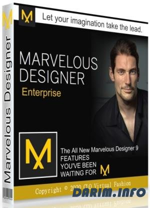 Marvelous Designer 9.5 Enterprise 5.1.469.28698